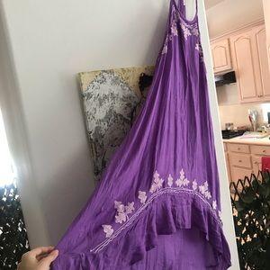 Dresses & Skirts - Purple Boho Beach Coverup